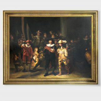 Ölgemälde Kopie Rembrandt van Rijn Die Nachtwache