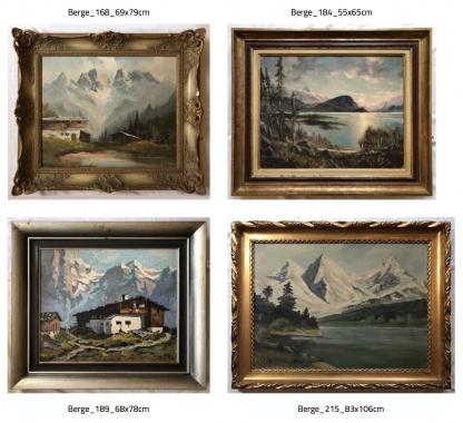 Ölgemälde Katalog Fotobuch Berge