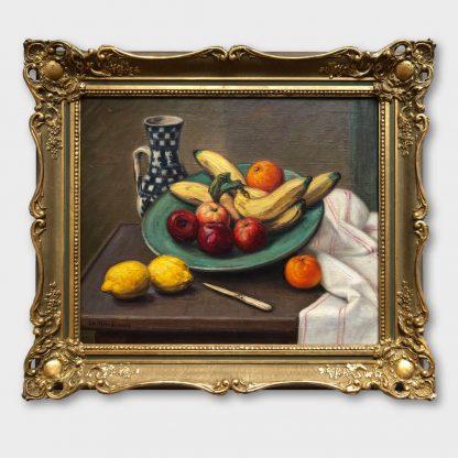 Ölgemälde: Leo Klein von Diepold - Früchtestillleben